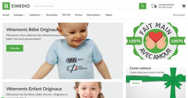 simedio boutique en ligne bebe