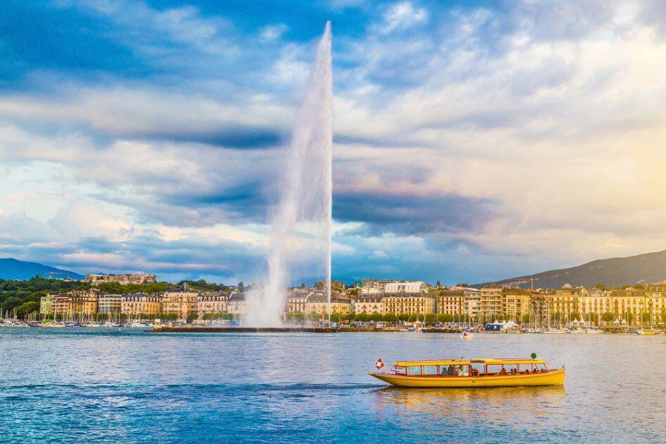 Geneve depuis Roissy